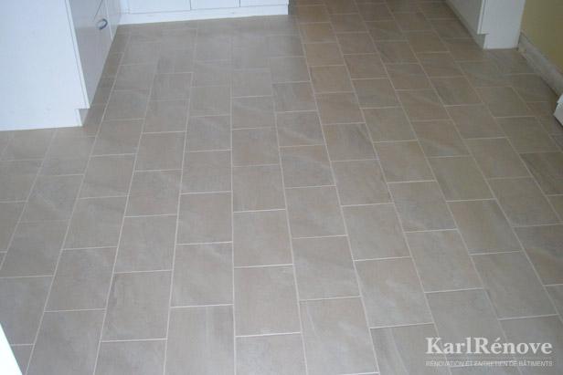 Karlrenove r novation plancher de cuisine for Plancher salle de bain sous sol