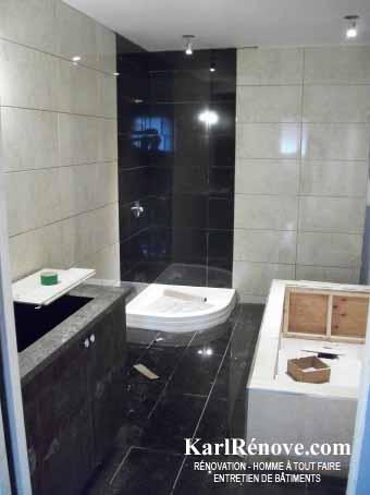 finition d'une salle de bain | karlrenove - Finition De Salle De Bain